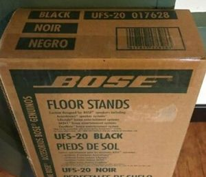 Bose UFS 20. Brand new in box. Black speaker stands for Sale in Phoenix, AZ