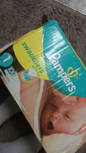 Pampers size 1 for Sale in Fircrest, WA