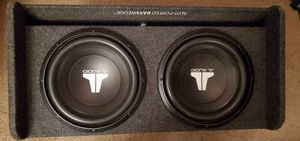 JL Subwoofer enclosure and amplifier. for Sale in Bothell, WA