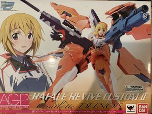 Tamashii Nations Armor Girls Project Rafael Revive Custom II Charlotte Dunois Action Figure for Sale in El Monte, CA