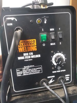 170 mig welder wirefeed 250 OBO for Sale in Santee, CA