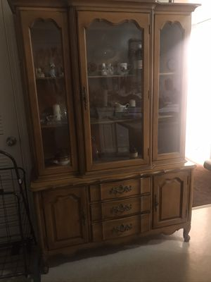 Antique china cabinet for Sale in Jersey City, NJ