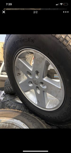 "17"" bfg jeep wheels for Sale in Corona, CA"