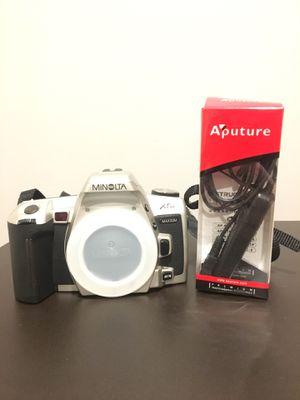 Minolta Maxxum XTsi Film Camera SLR (Lenses and bag included) for Sale in Hartland, MI