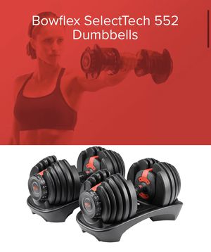 Bowflex SelecTech 552 Dumbells (2) BRAND NEW IN BOX! for Sale in Poway, CA