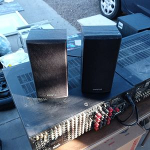 Onkyo 130 Watt Surround Bookshelf Speakers for Sale in Mesa, AZ