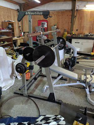 Nautilus weight set for Sale in Longview, WA