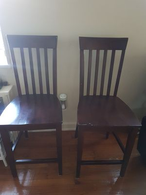 Dark wooden chairs, dining room chairs for Sale in Adelphi, MD