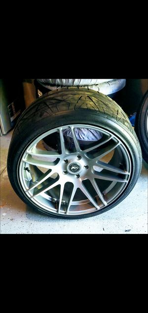 "20"" Forgestar F14 Gunmetal Wheels SDC Super Deep Concave MINT 5x120 Bmw 5 series F10 for Sale in Norton, MA"