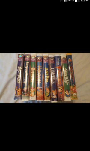 Disney VHS Video Tapes all for $10 for Sale in Phoenix, AZ