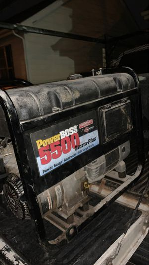 5500 generator for Sale in Raleigh, NC