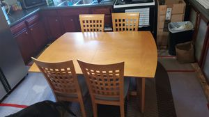 Kitchen table with 4 chairs for Sale in Anoka, MN