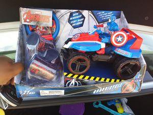 Captain America Remote Control Car for Sale in Lorton, VA