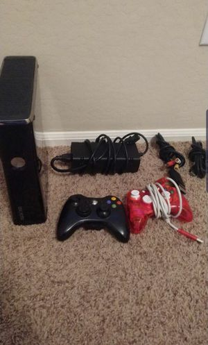 Xbox 360 with 2 controllers for Sale in Tolleson, AZ
