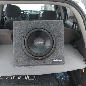 Rockford Fosgate 10 In R 2 D 2 Pro Wedge Box 250 RMS. @2 Ohm for Sale in Valley Center, CA