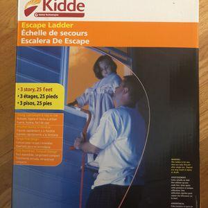 Kidde Escape Ladder - 25 ft - 3 Stories for Sale in Seattle, WA