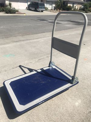 Collapsible push cart for Sale in Huntington Beach, CA