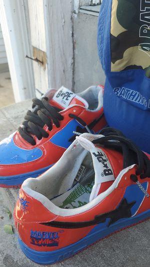 *rare* BAPE sta spiderman edition 8.5 us for Sale in Oak Park, IL