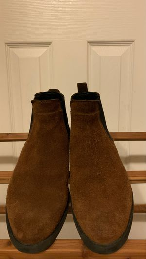 Men's 8.0 chelsea brown suede boots for Sale in Chula Vista, CA
