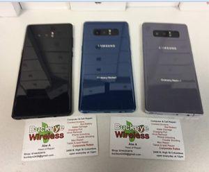 Samsung Galaxy note 8 for Sale in Falls Church, VA
