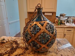 Moroccan style swag lamp for Sale in Waxhaw, NC
