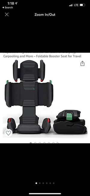 Hifold booster seat. for Sale in West Linda, CA