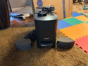 Bose speaker and subwoofer for Sale in San Diego, CA