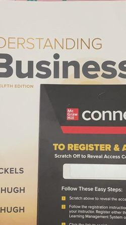Understanding Business Textbook W/ Access Code for Sale in Claremont,  CA