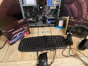 Intel Xeon E3-1225 v2 based Gaming Computer RX550 240GB SSD 16GB Ram for Sale in Grove City, OH
