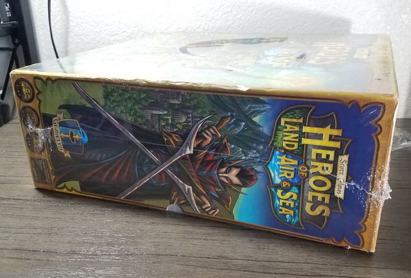 Heroes of Land, Air & Sea Board Game by Gamelyn - Scott Almes - BRAND NEW