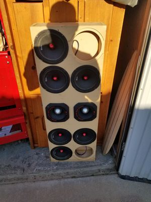 6 ds18 8 inch pro audio loud speakers for Sale in Bakersfield, CA