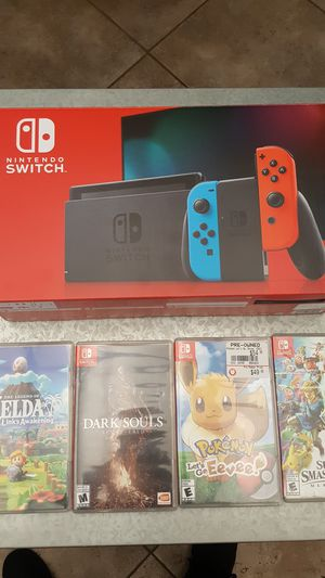 BRAND NEW Nintendo Switch, Links awakening, 64gb microsd and three game bundle for Sale in Upland, CA
