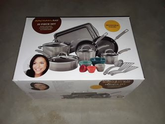 RACHAEL RAY 20pc. Cookware and Bakeware. BRAND NEW for Sale in Bartlett,  IL