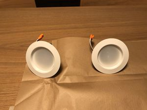 2 Free feit recessed lights, hardly used for Sale in Los Angeles, CA