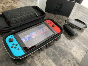 Nintendo Switch with games for Sale in Mesquite, TX