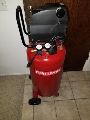 Air Compressor 26 Gallon with Accessories for Sale in Pismo Beach, CA