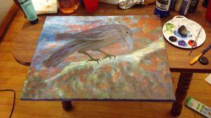 Crow Painting for Sale in Rhinelander, WI