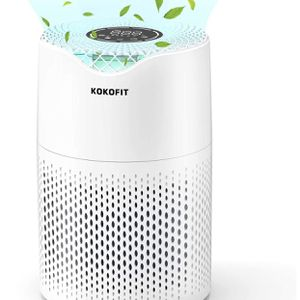 Small Portable Air Purifiers for Home Large Room with True HEPA Filter Air Purifier for Allergies and Pets, Smokers, Mold, Pollen, Dust, Quiet Odor Up for Sale in Alhambra, CA