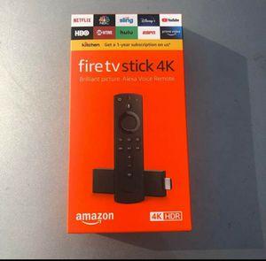 Brand New Amazon Fire TV stick 4k for Sale in Winchester, VA