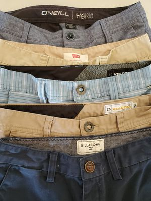 Boys Brand Name shorts. Billabong, Volcom, O'Neil and Levis for Sale in Calexico, CA