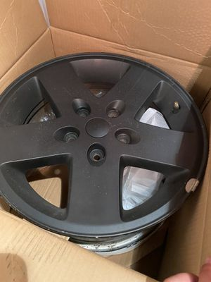 JK 2007 Jeep Wrangler wheels (alloy) for Sale in Taunton, MA