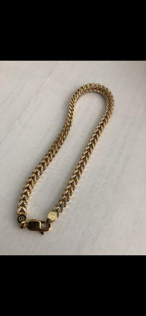 """Brand new real 10K 8"""" Franco bracelet for Sale in Redondo Beach, CA"""