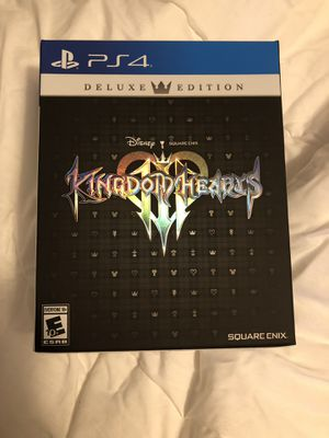 Kingdom Hearts 3 Deluxe Edition for Sale in Windermere, FL