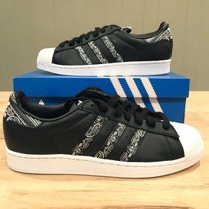 NEW Adidas Superstar Graffiti Paisley Bandana Retro Shoes for Sale in Aurora, CO