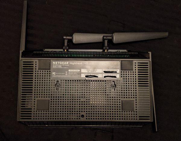 Nighthawk X4S R7800 smart wifi router