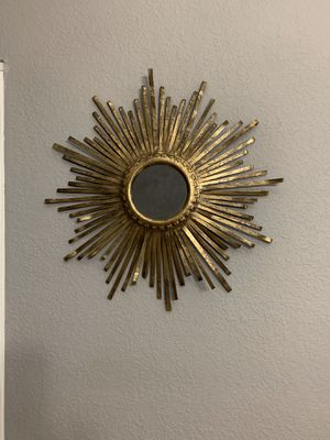 Sunburst wall mirror for Sale in Coral Springs, FL