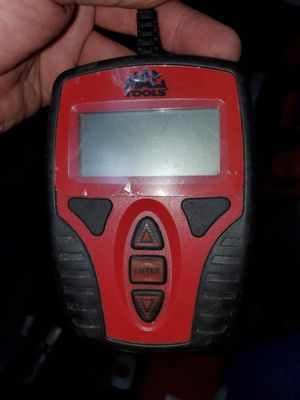 Mac tools battery tester for Sale in Ridgefield, CT