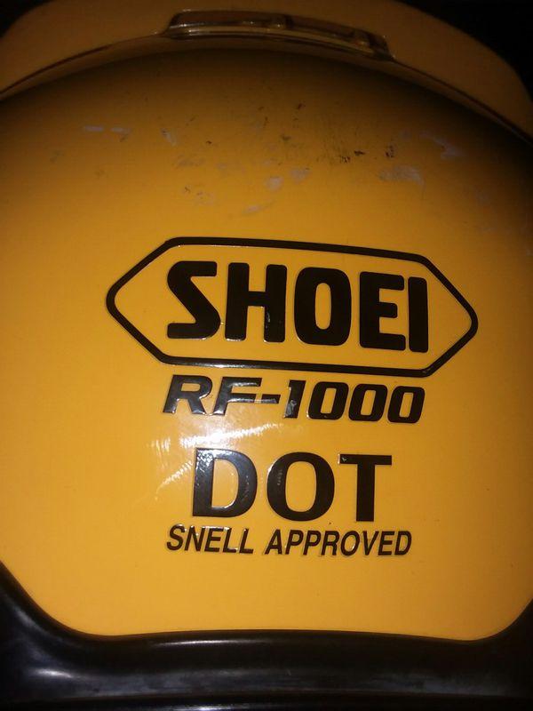Shoei Rf-1000 Motorcycle Helmet