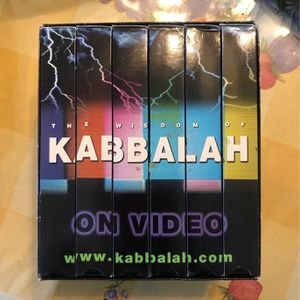 FREE KABBALAH VHS Collection for Sale in Walnut, CA