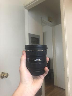 Sigma 10-20mm Lens for Nikon Cameras for Sale in Santa Monica, CA